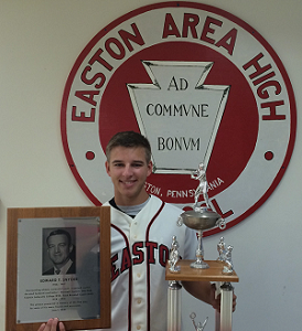 Conor Smith is the 2015 recipient of the Eddie Snyder Award