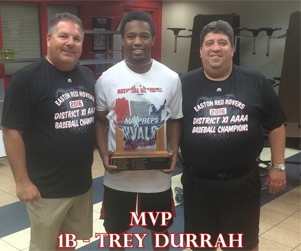 2016 MVP, Trey Durrah