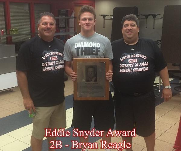 2016 Eddie Snyder Award Winner, Bryan Reagle