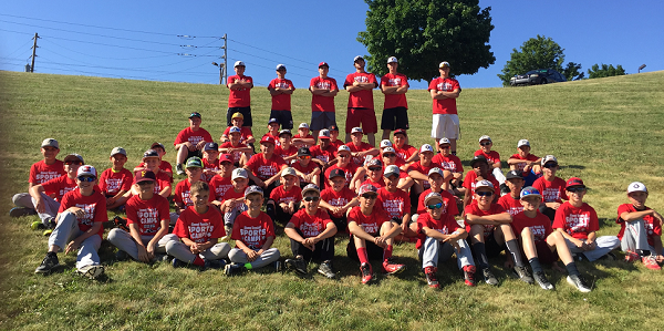 2016 Varsity E Summer Baseball Camp
