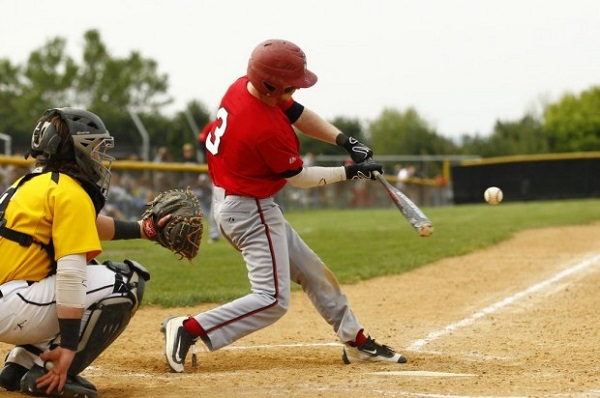 Photo courtesy of Saed Hindash | For lehighvalleylive.com. Easton's Greg Albertson went 3-for-4 in the win over Freedom.