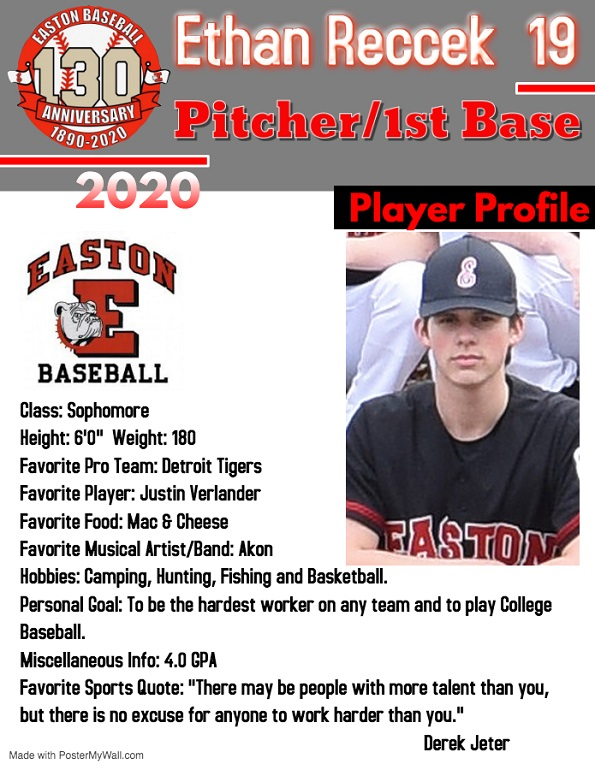 Ethan Reccek Profile